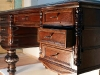 Ящики письменного стола после реставрации