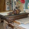 обеденный стол до реставрации