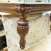 пример реставрации дубового стола