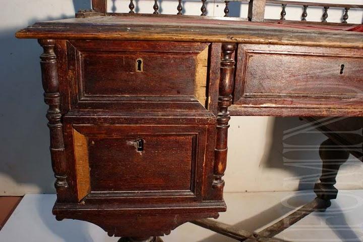 Как отреставрировать дубовую мебель своими руками 12