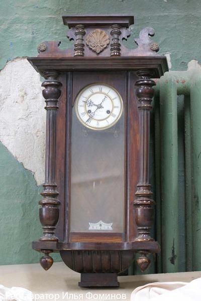 Отреставрировать настенные часы