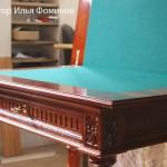 Ломберный стол после реставрации мебели