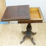 Ломберный стол до реставрации