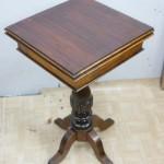 Крышка ломберного столика после ремонта