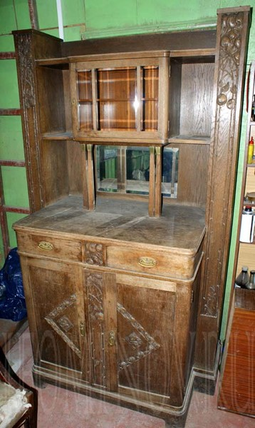 реставрация ремонт буфета в петербурге спб