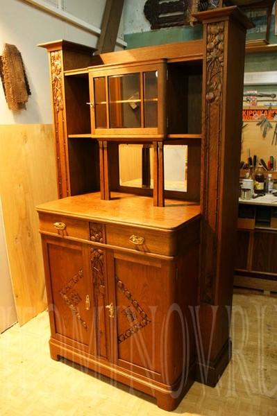 мебель начала 20 века, xx, отреставрировать буфет модерн