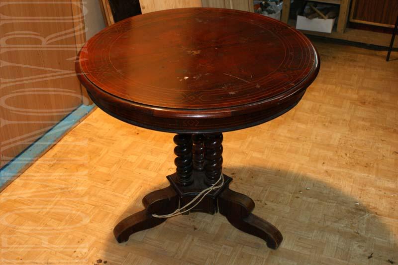 Круглый стол до реставрации