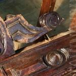 Состояние стола до реставрации.87