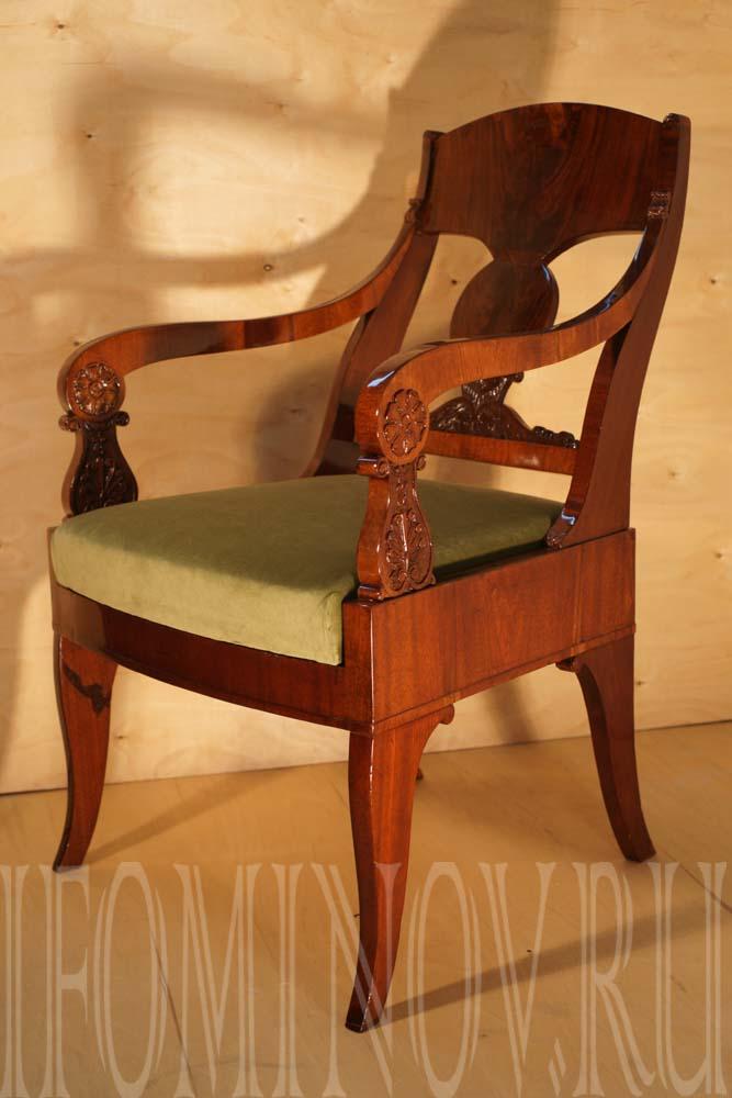 Кресло с новым сидением