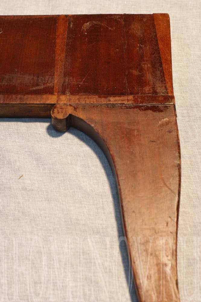 Состояние лакового покрытия до реставрации