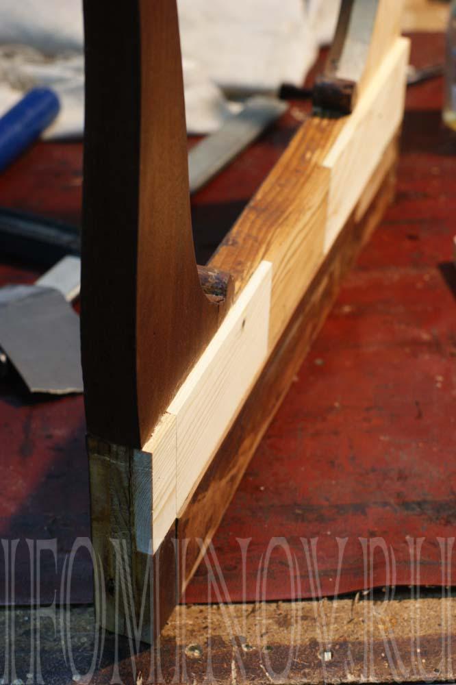Ремонт шиповых содинений кресла, стула