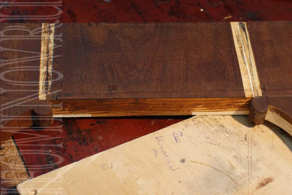 Реставрация шпона, устранение последствий некачественной реставрации