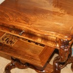 Реставрация мебели, ящика столика.