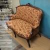 Антикварный диван второй половины XIX, 19 века после реставрации.