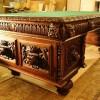 Пример реставрации письменного стола.