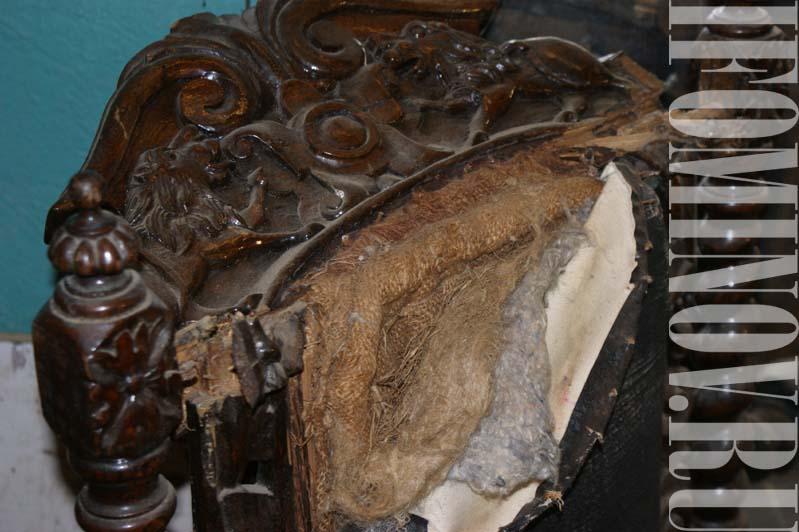 Реставрация резьбы по дубу
