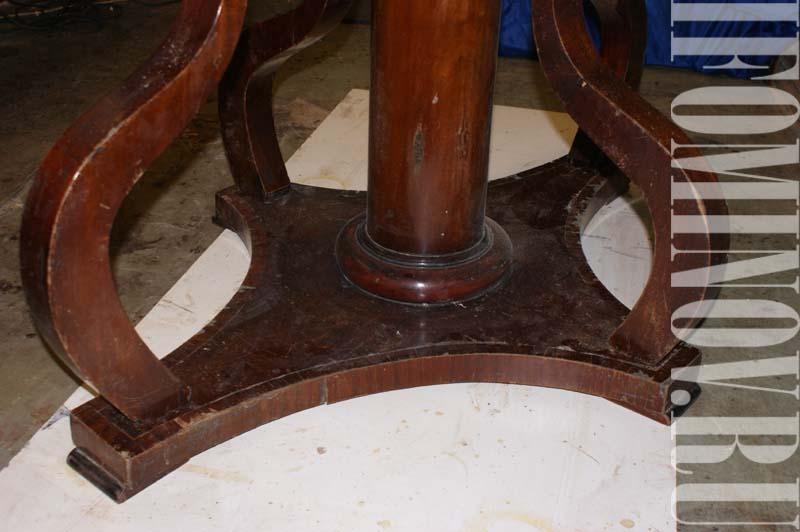 Опора стола до ремонта