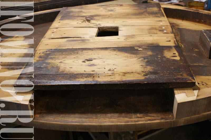 Укрепление конструкции столешницы