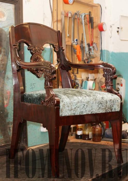 Купить кресло ампир