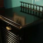 Шкаф пюпитр для нот черный