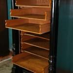 Выдвижные ящики шкафа тумбочки для нот