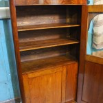 шкаф красного дерева после реставрации фото