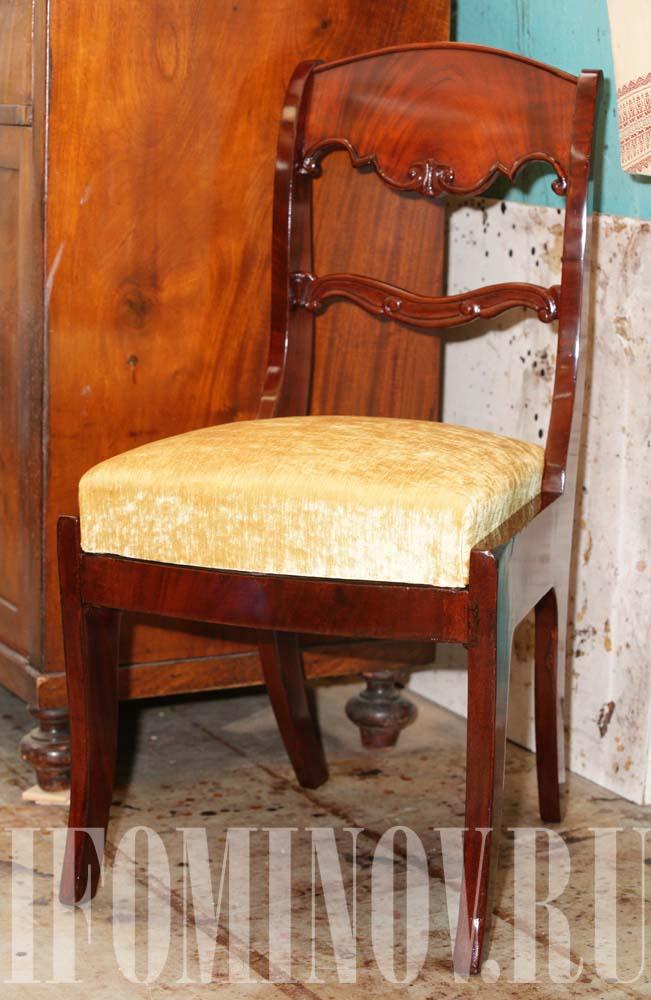 Стул мебель эпохи классицизм николаевское