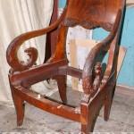 Кресло до реставрационных работ